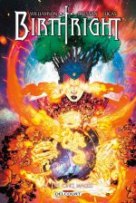 Birthright T8 : Les cinq mages (0), comics chez Delcourt de Williamson, Bressan, Lucas