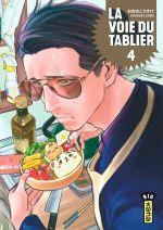La voie du tablier  T4, manga chez Kana de Oono