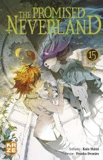 The promised neverland T15, manga chez Kazé manga de Shirai, Demizu