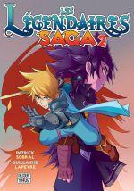 Les légendaires - Saga  T2, manga chez Delcourt Tonkam de Sobral, Lapeyre