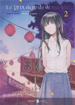 Le prix du reste de ma vie T2, manga chez Delcourt Tonkam de Miaki, Taguchi