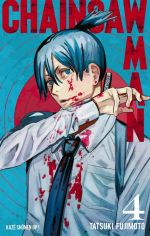 Chainsaw man T4, manga chez Kazé manga de Fujimoto