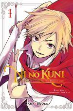 Ni no kuni - L'héritier de la lumière et le prince chat T1, manga chez Mana Books de Kuze, Level-5