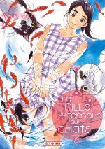 La fille du temple aux chats T8, manga chez Soleil de Ojiro