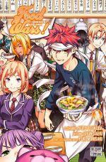 Food wars  T36, manga chez Delcourt Tonkam de Tsukuda, Saeki