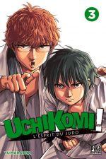 Uchikomi - L'esprit du judo T3, manga chez Pika de Muraoka