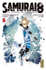 Samurai 8 - La légende de Hachimaru T5, manga chez Kana de Kishimoto, Okubo