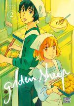 Golden sheep T2, manga chez Delcourt Tonkam de Ozaki