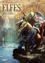 Elfes – cycle Les elfes blancs, T28 : Au royaume des aveugles (0), bd chez Soleil de Peru, Bileau, Jacquemoire