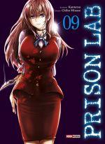 Prison lab T9, manga chez Panini Comics de Kantetsu, Minase