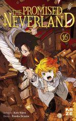 The promised neverland T16, manga chez Kazé manga de Shirai, Demizu