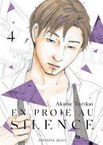 En proie au silence T4, manga chez Akata de Torikai