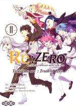 Re:Zero – 3e arc Truth of zero, T11, manga chez Ototo de Nagatsuki, Matsuse