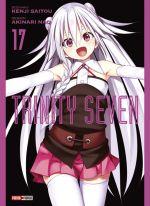 Trinity seven T17, manga chez Panini Comics de Nao, Saitô
