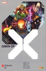 Dawn of X T1, comics chez Panini Comics de Hickman, Duggan, Howard, Brisson, Percy, Hill, Cassara, Alanguilan, To, Kudranski, Reis, Lolli, Yu, White, Arciniega, d' Armata, Gho, Blee