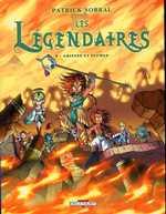 Les Légendaires T8 : Griffes et plumes (0), bd chez Delcourt de Sobral