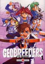 Geobreeders T1, manga chez Bamboo de Itô