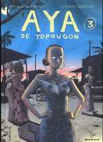 Aya de Yopougon T3, bd chez Gallimard de Abouet, Oubrerie