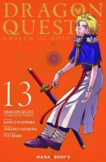 Dragon quest - Les héritiers de l'emblème T13, manga chez Mana Books de Eishima, Fujiwara