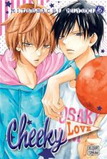 Cheeky love T16, manga chez Delcourt Tonkam de Mitsubachi
