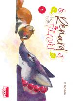 Le renard et le petit tanuki T1, manga chez Ki-oon de Tagawa