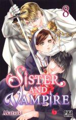 Sister and vampire  T8, manga chez Pika de Akatsuki