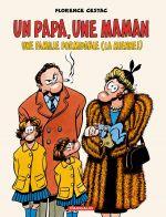 Un Papa, une maman, une famille formidable (la mienne !), bd chez Dargaud de Cestac