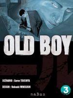 Old boy T3, manga chez NaBan Editions de Garon, Nobuaki