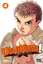 Uchikomi - L'esprit du judo T4, manga chez Pika de Muraoka