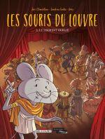Les Souris du Louvre T3 : Le Serment oublié (0), bd chez Delcourt de Chamblain, Goalec, Drac