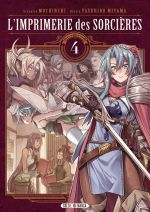 L'imprimerie des sorcières  T4, manga chez Soleil de Mochinchi, Miyama