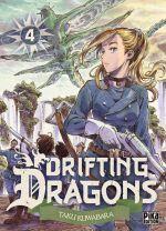 Drifting dragons T4, manga chez Pika de Kuwabara