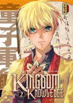 Kingdom of knowledge T2, manga chez Kana de Oda