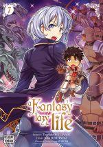 A fantasy lazy life  T7, manga chez Delcourt Tonkam de Watanabe, Ayakura, Hinotsuki