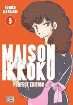 Maison Ikkoku T5, manga chez Delcourt Tonkam de Takahashi