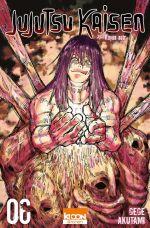 Jujutsu Kaisen T6, manga chez Ki-oon de Akutami