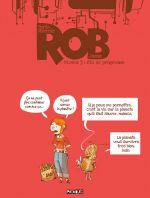Rob T3 : Fin de programme (0), bd chez Delcourt de James, Mirroir