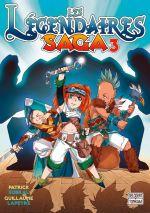Les légendaires - Saga  T3, manga chez Delcourt Tonkam de Sobral, Lapeyre