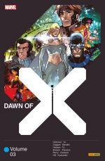 Dawn of X T3, comics chez Panini Comics de Hickman, Duggan, Howard, Hill, Brisson, Cassara, Bandini, Flaviano, To, Alanguilan, d'Amico, Yu, Kudranski, Lopez, Guru efx, Gho, Arciniega, d' Armata, Blee