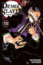 Demon slayer T13, manga chez Panini Comics de Gotouge