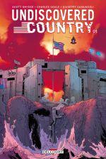 Undiscovered Country T1, comics chez Delcourt de Snyder, Soule, Camuncoli, Grassi, Orlandini, Wilson