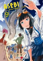 Asebi et les aventuriers du ciel  T9, manga chez Bamboo de Umeki