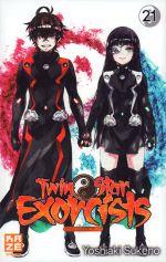 Twin star exorcists T21, manga chez Kazé manga de Sukeno