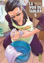 La voie du tablier  T5, manga chez Kana de Oono