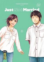 Just not married T5, manga chez Kana de Higurashi