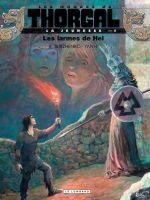 Les Mondes de Thorgal – cycle La jeunesse de Thorgal, T9 : les larmes de Hel (0), bd chez Le Lombard de Yann, Surzhenko, Rosinski