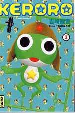 Keroro T3, manga chez Kana de Yoshizaki