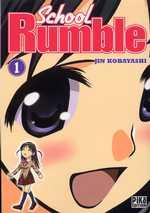 School Rumble T1, manga chez Pika de Kobayashi