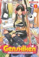 Genshiken T3, manga chez Kurokawa de Shimoku