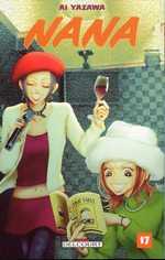 Nana T17, manga chez Delcourt de Yazawa
